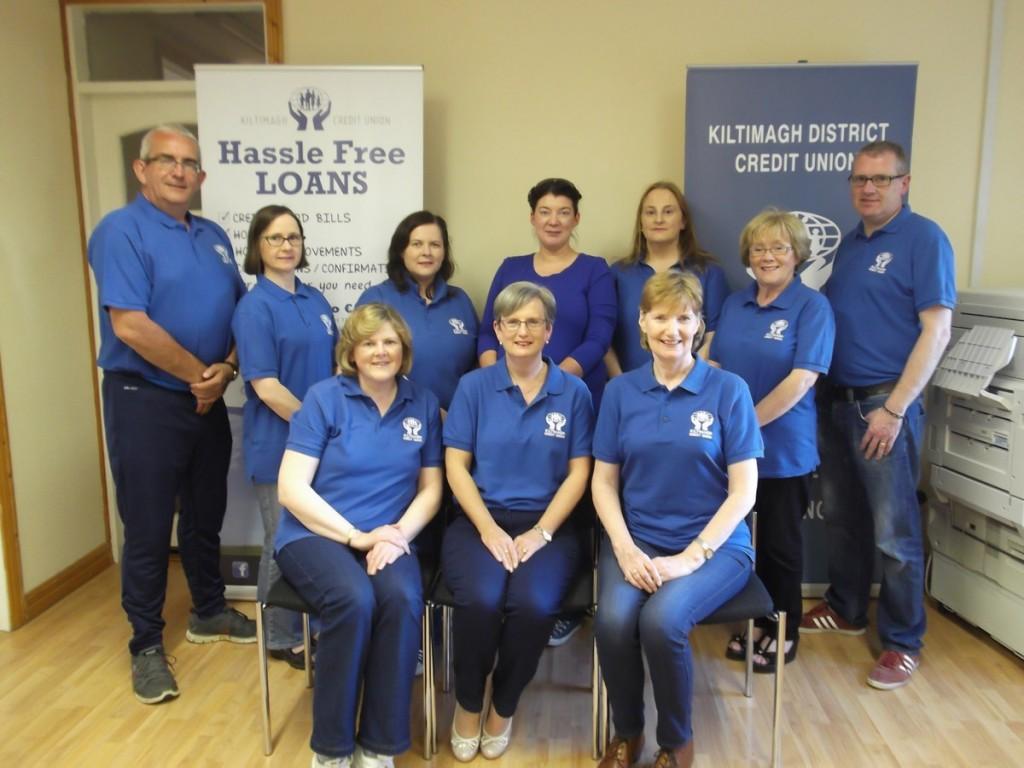 Kiltimagh Credit Union Staff Members